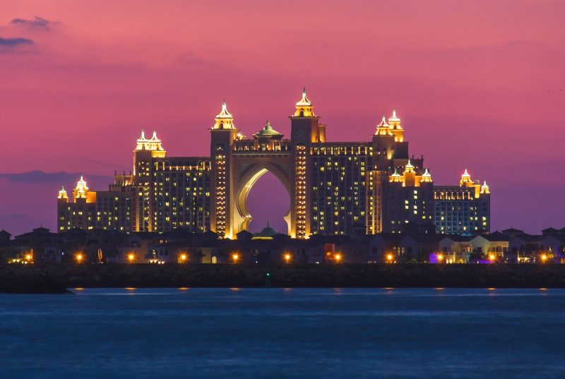 Atlantis The Palm Hotel in Dubai