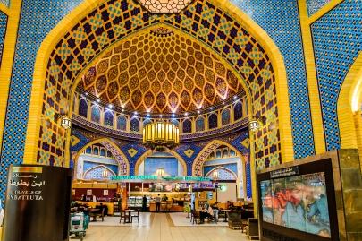 ibn battuta mall in dubai mit 275 gesch ften und verschiedenen themenbereichen. Black Bedroom Furniture Sets. Home Design Ideas