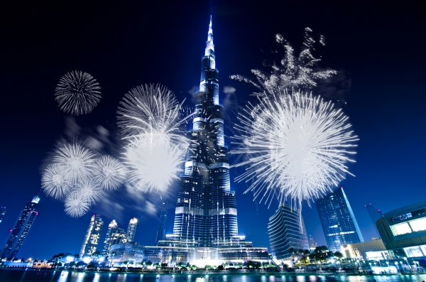 silvesterfeuerwerk 2014 in dubai. Black Bedroom Furniture Sets. Home Design Ideas